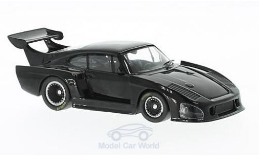 Porsche 935 1980 1/43 WhiteBox K3 noire miniature