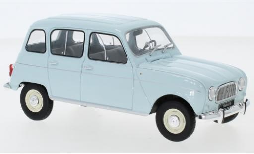 Renault 4 1/24 WhiteBox L blue diecast model cars