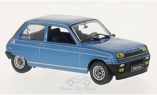 Renault 5 Alpine 1/43 WhiteBox metallise bleue 1976 miniature