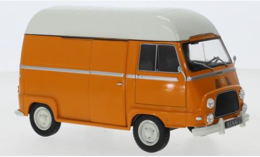 Renault Estafette 1/24 WhiteBox orange/blanche miniature