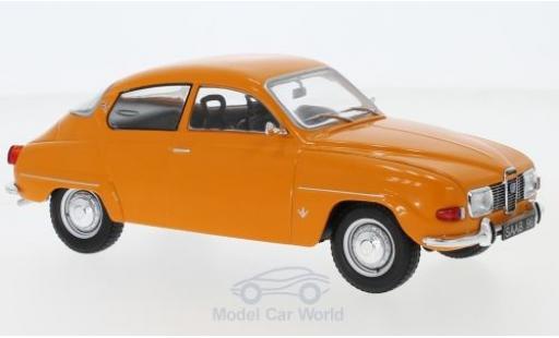 Saab 96 1/24 WhiteBox V4 orange 1970 miniature