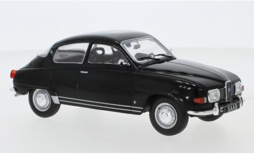 Saab 96 1/24 WhiteBox V4 noire 1970 miniature