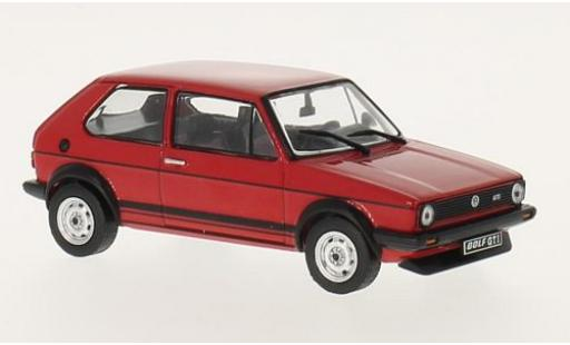 Volkswagen Golf 1/43 WhiteBox 1 GTI rouge 1978 miniature