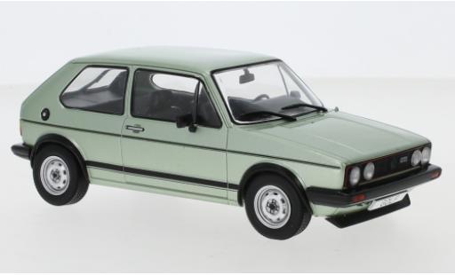 Volkswagen Golf 1/24 WhiteBox I GTI metallise grün 1983 modellautos