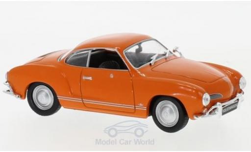 Volkswagen Karmann 1/43 WhiteBox Ghia orange 1962 miniature