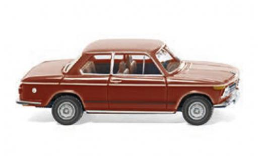 Bmw 2002 1/87 Wiking rouge 1968 miniature