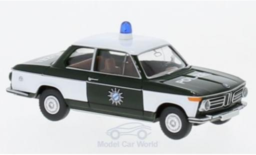 Bmw 2002 1/87 Wiking Polizei miniature