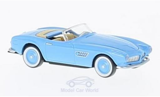 Bmw 507 1/87 Wiking bleue miniature