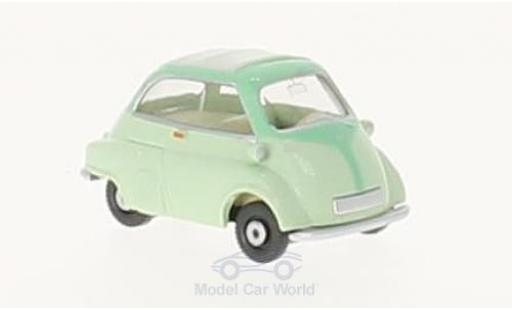 Bmw Isetta 1/87 Wiking green diecast model cars