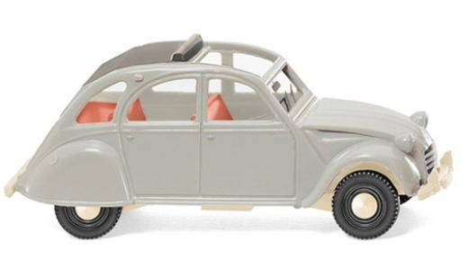Citroen 2CV 1/87 Wiking 2 CV grise 1963 miniature