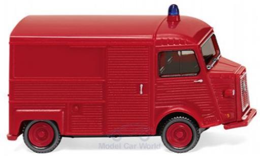 Citroen HY 1/87 Wiking Kastenwagen Feuerwehr diecast model cars
