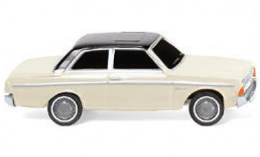 Ford 20M 1/87 Wiking (P5) blanche/noire 1960 miniature