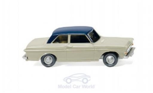 Ford Taunus 1/87 Wiking 12M (P4) grise/bleue miniature