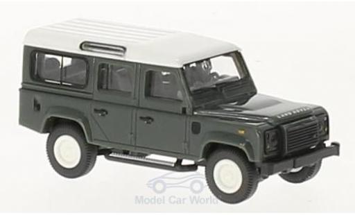 Land Rover Defender 1/87 Wiking 110 verte/blanche miniature