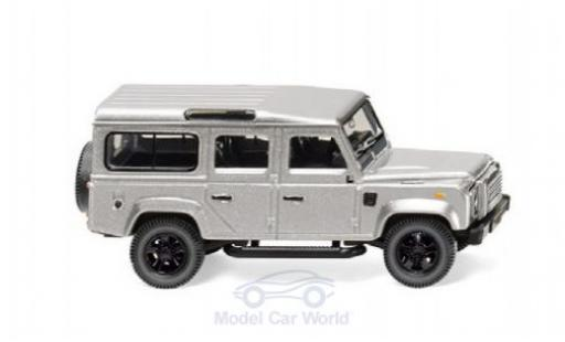 Land Rover Defender 1/87 Wiking 110 grise miniature