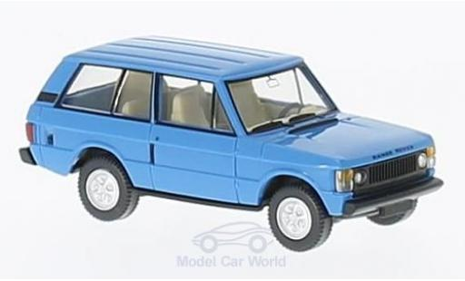 Land Rover Range Rover 1/87 Wiking bleue miniature
