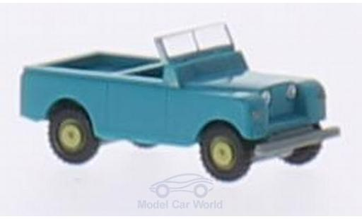Land Rover Series 1 1/160 Wiking turquoise miniature