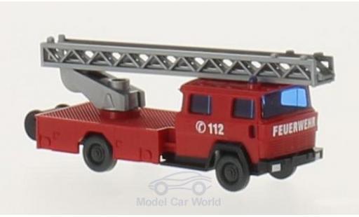 Magirus DL 30 1/160 Wiking Feuerwehr Drehleiter miniature