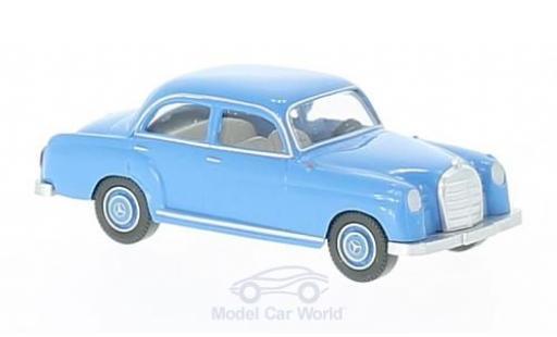 Mercedes 180 1/87 Wiking bleue miniature