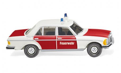 Mercedes 240 1/87 Wiking D (W123) Feuerwehr 1975 modellino in miniatura
