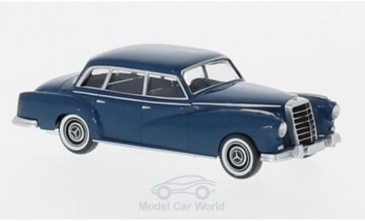 Mercedes 300 1/87 Wiking bleue miniature