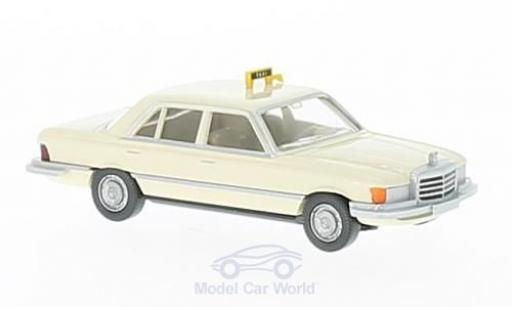 Mercedes 300 S 1/87 Wiking SD (W116) Taxi miniature