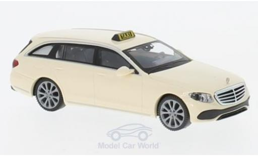Mercedes Classe E 1/87 Wiking T-Modell (S213) Taxi miniatura