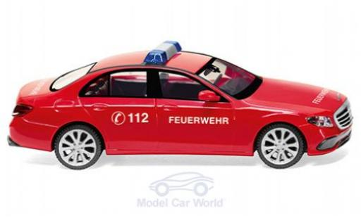 Mercedes Classe E 1/87 Wiking (W213) Feuerwehr miniature