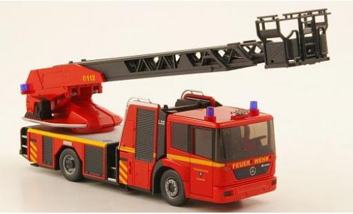 Mercedes Econic 1/87 Wiking Metz DL 32 Feuerwehr Lübeck modellino in miniatura