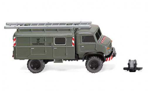 Mercedes Unimog 1/87 Wiking S 404 DBP-Fernmeldedienst 1955 diecast model cars