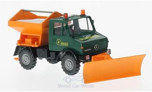 Mercedes Unimog 1/87 Wiking U 1300 Rinnen Winterdienst miniatura