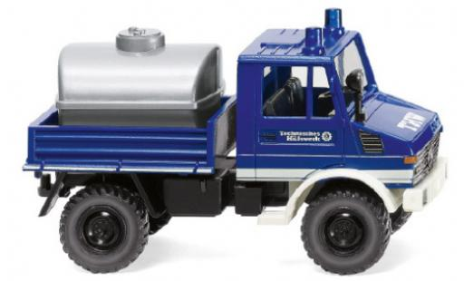 Mercedes Unimog 1/87 Wiking U 1300 THW 1975 diecast model cars