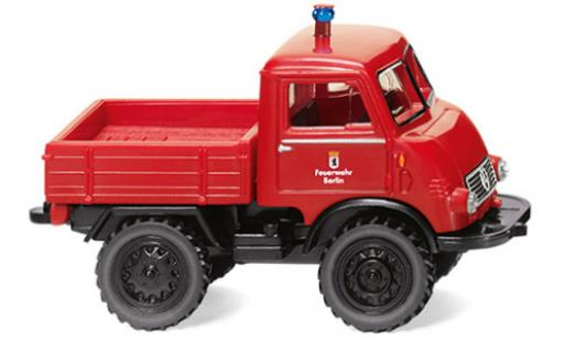 Mercedes Unimog 1/87 Wiking U401 Feuerwehr 1950 diecast model cars