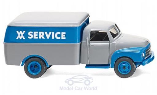 Opel Blitz 1/87 Wiking Kastenwagen WM Service miniature