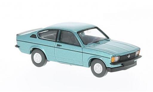 Opel Kadett 1/87 Wiking C Rallye Winterfest metallise turquoise miniature