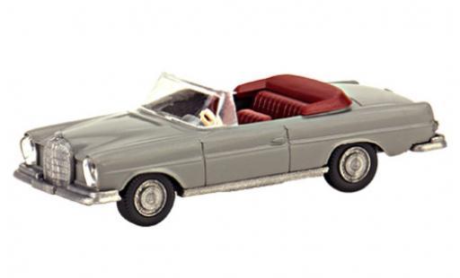 Mercedes 280 1/87 Wiking PMS SE Cabriolet (W111) grise s�rie 800 miniature