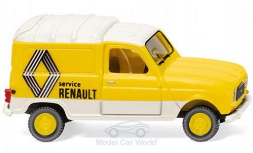 Renault 4 1/87 Wiking Kastenwagen modellautos
