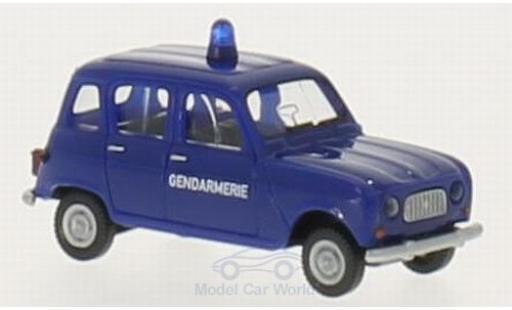 Renault 4 L 1/87 Wiking R Gendarmerie (F) diecast