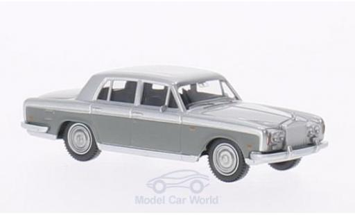 Rolls Royce Silver Shadow 1/87 Wiking grise/grise miniature