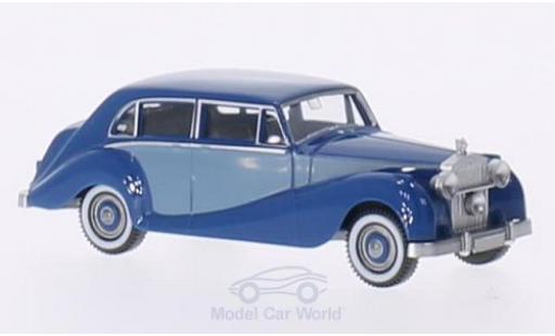 Rolls Royce Silver Wraith 1/87 Wiking bleue/matt-bleue miniature