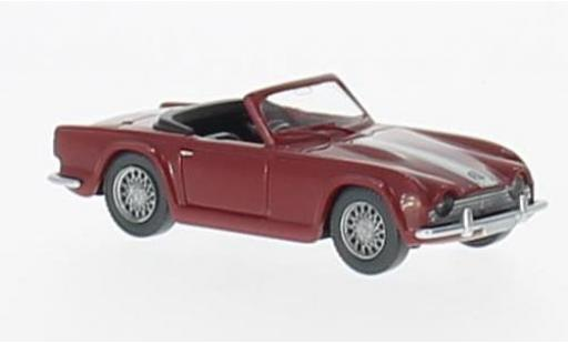 Triumph TR4 1/87 Wiking rouge miniature