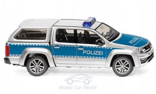 Volkswagen Amarok 1/87 Wiking GP Comfortline Polizei miniature