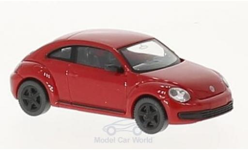 Volkswagen Beetle 1/87 Wiking red diecast