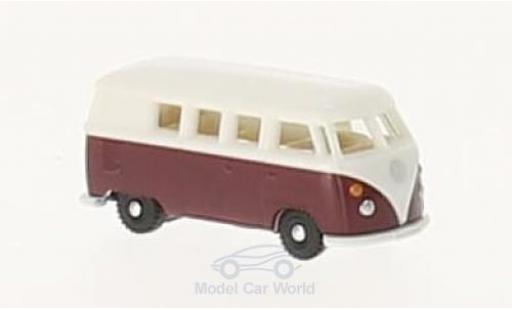Volkswagen T1 B 1/160 Wiking us red/white diecast model cars