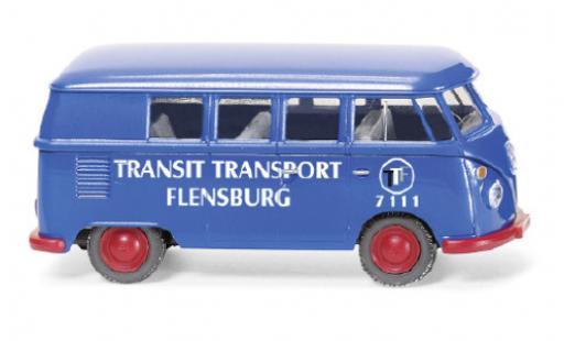 Volkswagen T1 1/87 Wiking Bus Transit Transport Flensburg diecast model cars