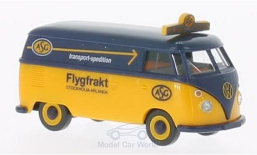 Volkswagen T1 A 1/87 Wiking Kasten ASG miniatura
