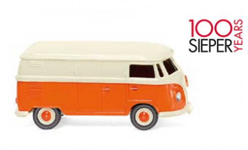Volkswagen T1 1/87 Wiking Kastenwagen beige/orange 1963 100 années Sieper diecast model cars