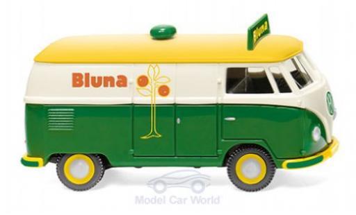 Volkswagen T1 1/87 Wiking Kastenwagen Bluna diecast model cars
