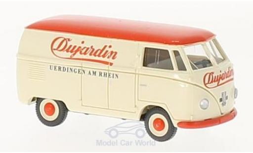Volkswagen T1 A 1/87 Wiking Kastenwagen Dujardin diecast model cars