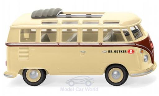 Volkswagen T1 1/87 Wiking Sambabus Dr. Oetker diecast
